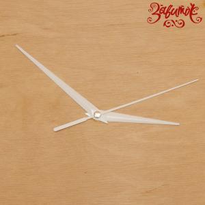 """Часовой механизм """"Орлей"""", белые стрелки, 7 см/ 11 см/ 11 см - Заготовки для декупажа. Интернет-магазин Завиток"""