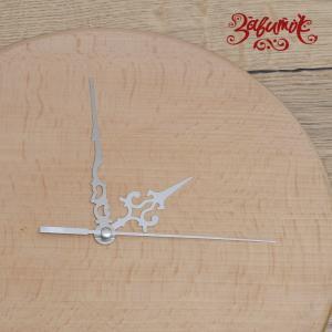 Мерцание, часовой механизм со стрелками, цвет серебро, 6 см/10см/10 см - Заготовки для декупажа. Интернет-магазин Завиток