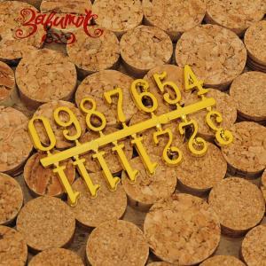 Цифры для часов арабские, золото, 15 мм - Заготовки для декупажа. Интернет-магазин Завиток