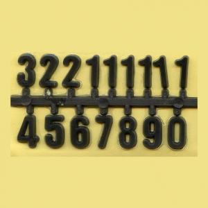 Цифры для часов арабские,черные, 10 мм - Заготовки для декупажа. Интернет-магазин Завиток