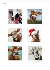 Коровки, художественные изображения, карта для декупажа №150 - Заготовки для декупажа. Интернет-магазин Завиток