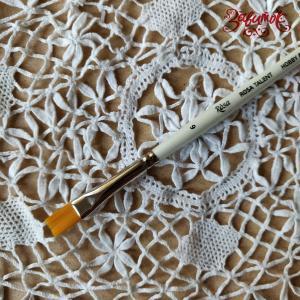 Кисть синтетика плоская №6 (0,8 см) ROSA TALENT - Заготовки для декупажа. Интернет-магазин Завиток