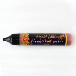 Контур бронзовый универсальный Liquid Glitter Point, 25 мл - Заготовки для декупажа. Интернет-магазин Завиток