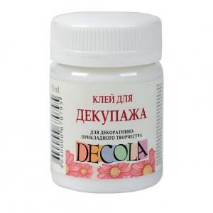 Клей для декупажа Decola, 50 мл - Заготовки для декупажа. Интернет-магазин Завиток