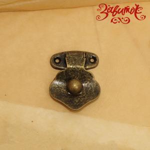"""Замок """"Жемчужина"""", бронза, 42х32 мм - Заготовки для декупажа. Интернет-магазин Завиток"""