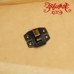 """Замок """"Сдержанный"""", бронза, 24х20 мм - Заготовки для декупажа. Интернет-магазин Завиток"""