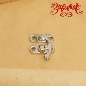 """Замок """"Крюк"""", серебро, 23х29 мм - Заготовки для декупажа. Интернет-магазин Завиток"""