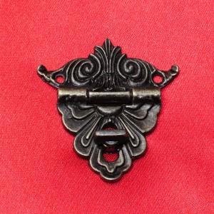 """Замок """"Французская борода"""", бронза, 48 мм - Заготовки для декупажа. Интернет-магазин Завиток"""