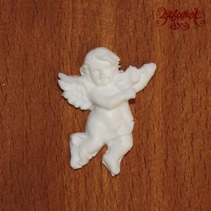 Ангел №5 со скрипкой, 3,5*2,5 см, полимерная фигурка - Заготовки для декупажа. Интернет-магазин Завиток