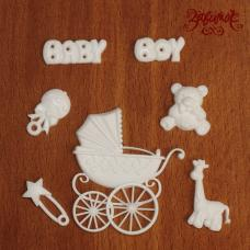 "Фигурки из пластика ""Baby Boy"", 7 шт. в наборе"