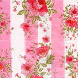 Pink Red, 33х33 см - Заготовки для декупажа. Интернет-магазин Завиток