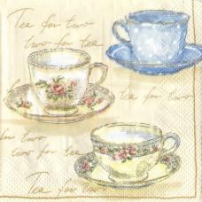 Tea for Two, 25х25 см