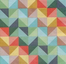 Геометрия цвета, 33х33 см