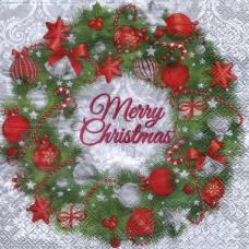 Merry Christmas, 33х33 см