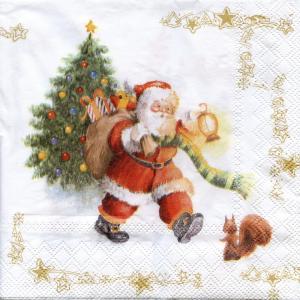 В день последний декабря…, 33х33 см, салфетка для декупажа - Заготовки для декупажа. Интернет-магазин Завиток