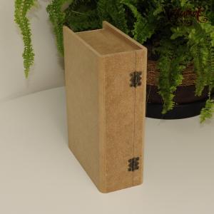 Шкатулка книга, мдф, 20х14 см - Заготовки для декупажа. Интернет-магазин Завиток