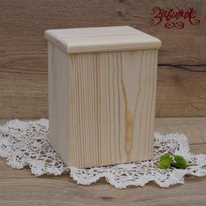 Короб, сосна, 12х10х17 см - Заготовки для декупажа. Интернет-магазин Завиток