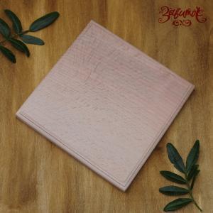 Квадратная деревянная заготовка с фаской, 15х15 см - Заготовки для декупажа. Интернет-магазин Завиток