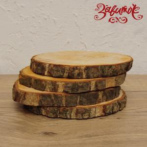 Спил дерева, ольха, 13-15 см - Заготовки для декупажа. Интернет-магазин Завиток