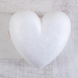 Сердце, пенопласт, 15 см - Заготовки для декупажа. Интернет-магазин Завиток