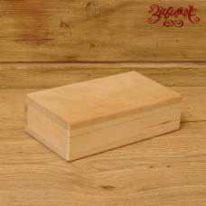 Купюрница деревянная, 18х10,5х5,5 см (уценка)