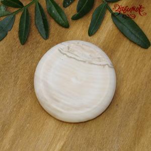 Медальон деревянный без отверстия, 7х2 см - Заготовки для декупажа. Интернет-магазин Завиток