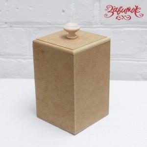 Короб для сыпучих, мдф, 10х10х15 см - Заготовки для декупажа. Интернет-магазин Завиток