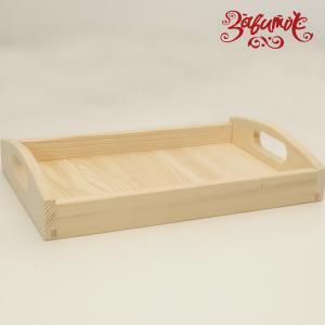 Поднос деревянный, сосна, 42х27 см - Заготовки для декупажа. Интернет-магазин Завиток