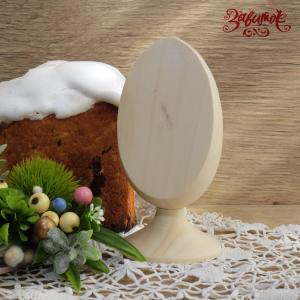 Яйцо деревянное со срезом, 12 см - Заготовки для декупажа. Интернет-магазин Завиток