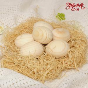 Яйцо деревянное маленькое, 4 см - Заготовки для декупажа. Интернет-магазин Завиток