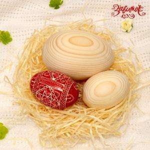 """Яйцо большое (""""гусиное""""), 8,5 см - Заготовки для декупажа. Интернет-магазин Завиток"""