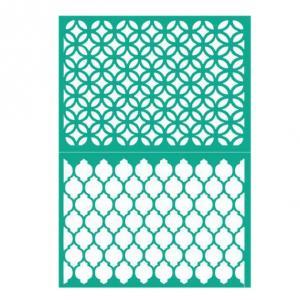 Трафарет №71 Орнамент, клеевой, 12х17 см - Заготовки для декупажа. Интернет-магазин Завиток