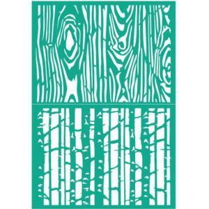 Трафарет №109 Деревянные текстуры, 13х20 см - Заготовки для декупажа. Интернет-магазин Завиток