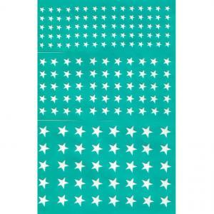 Трафарет №110 Звезды, 13х20 см - Заготовки для декупажа. Интернет-магазин Завиток