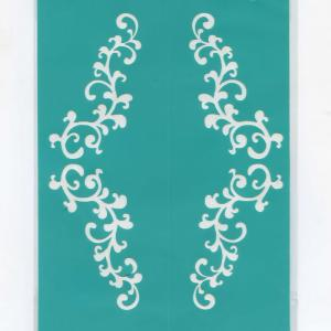 Трафарет №41, клеевой, 12х15 см - Заготовки для декупажа. Интернет-магазин Завиток